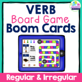 Verb Boom Cards for Speech Therapy