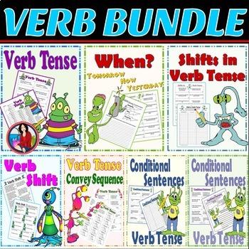Verb Tense and Verb Tense Shift Bundle