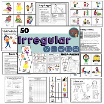 Verb Bundle: Irregular, Regular Verbs and Verb Targets
