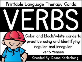 Verb Cards