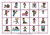 Verb Cards and Word Mats