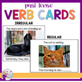 Syntax Cards for Speech Therapy: Past Tense Verbs