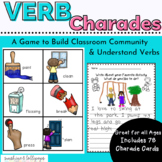 Action Verb Charades A Fun Game Anytime to Reinforce Parts of Speech Dollar Deal