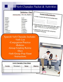 Verb Charades Activity Packet - Spanish