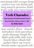Verb Charades: Easy Verbs One (without reasons)