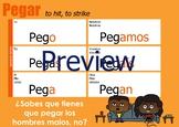 Verb Chart - Pegar