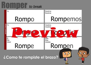 Verb Chart - Romper
