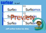 Verb Chart - Surfear