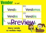 Verb Chart - Vender