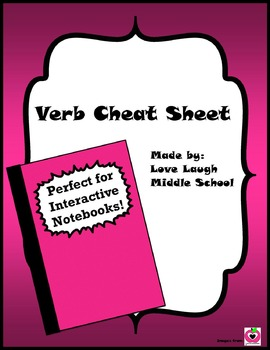 Verb Cheat Sheet