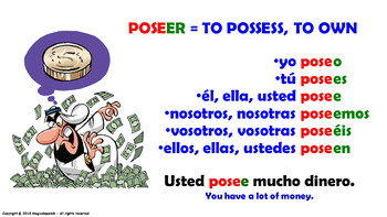 "Verb Conjugation -Present Tense /12 Regular Verbs Ending in –""ER"" (PPT #11)"