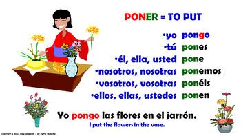 Verb Conjugation -Present Tense /12 Irregular Verbs. (PPT #16)