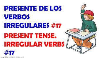 Verb Conjugation -Present Tense /12 Irregular Verbs (PPT #17)