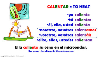 "Verb Conjugation –Present Tense/12 Stem-Changing Verbs -""E-IE"" (PPT #20)"