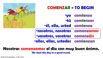 begin conjugation