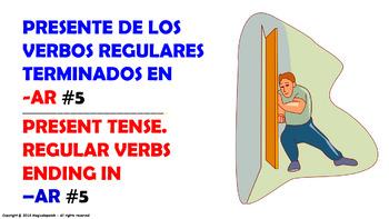 Verb Conjugation -Present Tense /12 Regular Verbs Ending i