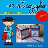 -AR Verbs  -Present Tense-