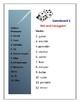 Verb Conjugation Dice Game