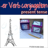 "-ER Verbs (French) ""Learning cube Inserts"""