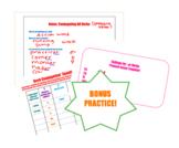 Verb Conjugation Equation AR Verbs Regular Present Tense Notes