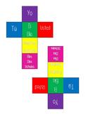 Verb Conjugation Game - Juego de los Dados