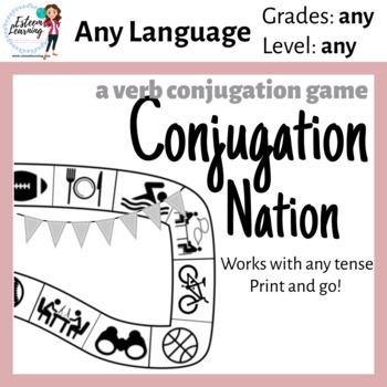 Verb Conjugation Game - Practice Conjugating Any Tense