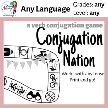 Verb Conjugation Game - Practice Conjugating Any Tense
