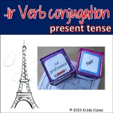 """-IR Verbs (French) """"Learning cube Inserts"""""""