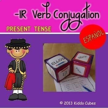 -IR Verbs Present Tense