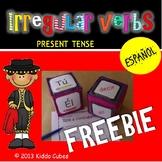 Irregular verbs  Present Tense