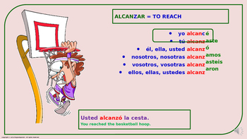 "Verb Conjugation –Past Tense /12 Irregular Verbs. ""Z-C"" Change (PPT  #07)"