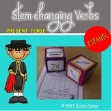 Stem-Changing  Verbs  Present tense