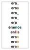 Verb Conjugation Wall