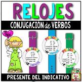 Verb Conjugation Watches (Present Tense)