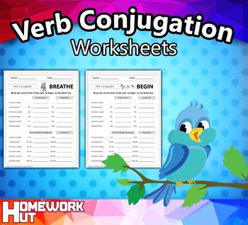 Verb Conjugation Worksheets