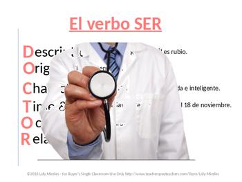 Ser/Estar/AR/ER/IR Verbs/Gustar