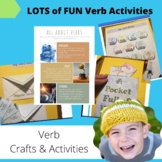 Verb Craft and Activities for Kids