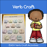 Verb Craft and Activity: Verb Bank!!