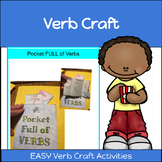 Verb Craft and Activity: Verb Pockets!