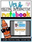 Verb Digital Interactive Notebook- Distance Learning- Goog