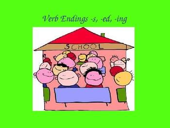 Verb Endings Powerpoint
