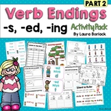 Inflectional Endings s, ed, ing Activity Pack PART 2