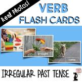 Verb Flash Cards - Irregular Past Tense - Real Photos!
