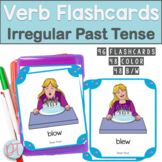 Verb Flash Cards: Irregular Past Tense Verbs