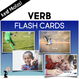 Verb Flash Cards - Real Photos!