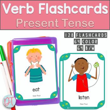 Verb Flash Cards: Regular and Irregular