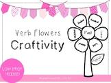 Verb Flower Craftivity