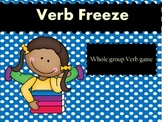 Verb Freeze - Whole Group Verb Game