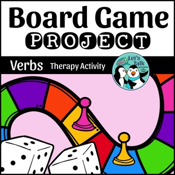 Verb Game Board Project