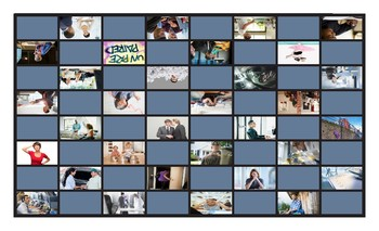 Verb Hacer Spanish Legal Size Photo Checkers Game